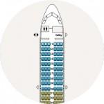 Airbus 312 Seat map